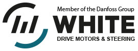 White Drive Products – Member of the Danfoss Group Logo